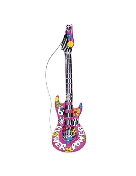 Guitarra Hinchable Hippie Tienda de disfraces online - venta disfraces