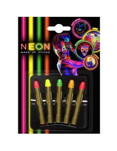 Set de Lápices Maquillaje Neon Tienda de disfraces online - venta disfraces