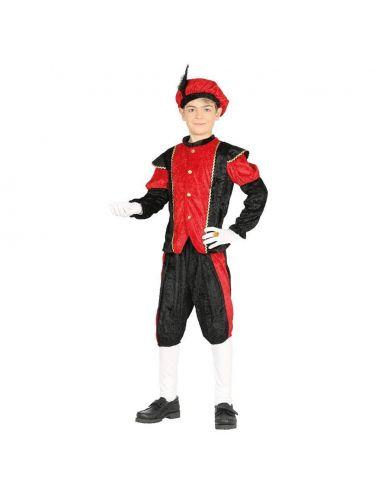 Disfraz Paje rojo infantil Tienda de disfraces online - venta disfraces