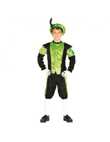 Disfraz Paje verde infantil Tienda de disfraces online - venta disfraces