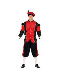 Disfraz Paje Rojo Adulto Tienda de disfraces online - venta disfraces