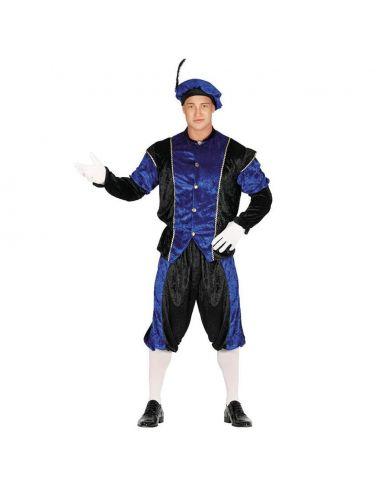 Disfraz Paje Azul Adulto Tienda de disfraces online - venta disfraces