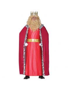 Disfraz Rey Mago Adulto Rojo