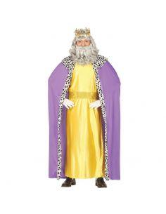 Disfraz Rey Mago Adulto Lila Tienda de disfraces online - venta disfraces