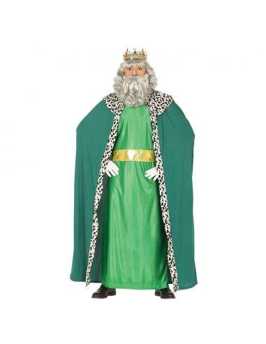 Disfraz Rey Mago Adulto Verde Tienda de disfraces online - venta disfraces