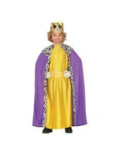 Disfraz Rey Mago Infantil Lila Tienda de disfraces online - venta disfraces