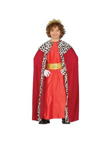 Disfraz Rey Mago Infantil Rojo Tienda de disfraces online - venta disfraces