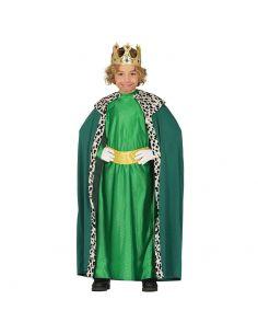 Disfraz Rey Mago Infantil Verde Tienda de disfraces online - venta disfraces