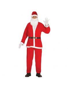 Disfraz Papa Noel Terciopelo Adulto Tienda de disfraces online - venta disfraces