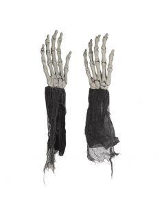 Manos Esqueleto plástico Tienda de disfraces online - venta disfraces