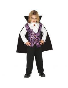 Disfraz Vampiro Infantil Lila Tienda de disfraces online - venta disfraces