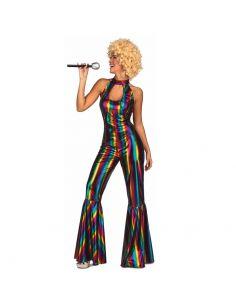 Disfraz Mono Disco Rainbow mujer Tienda de disfraces online - venta disfraces