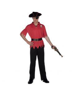 Disfraz Pirata Rojo hombre Tienda de disfraces online - venta disfraces