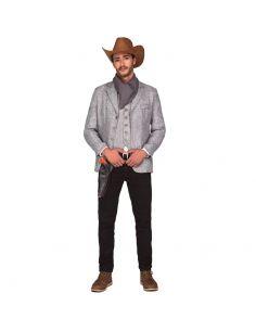 Disfraz Pistolero Gris hombre Tienda de disfraces online - venta disfraces