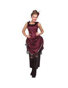 Disfraz Chica Saloon Rosa mujer Tienda de disfraces online - venta disfraces