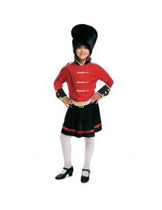 Disfraz Guardia Inglesa niña Tienda de disfraces online - venta disfraces