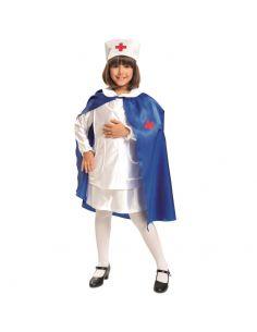 Disfraz Enfermera Con Capa niña Tienda de disfraces online - venta disfraces