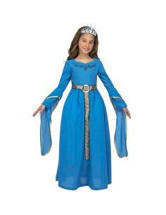 Disfraz Princesa Medieval Azul niña Tienda de disfraces online - venta disfraces
