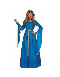Disfraz Princesa Medieval Azul mujer Tienda de disfraces online - venta disfraces