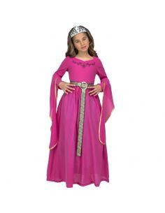 Disfraz Princesa Medieval Rosa niña Tienda de disfraces online - venta disfraces
