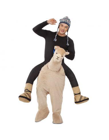 Disfraz a Hombros Alpaca adulto Tienda de disfraces online - venta disfraces