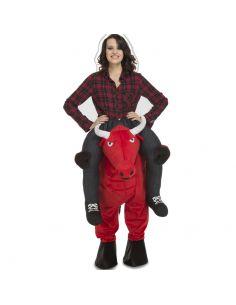 Disfraz a Hombros Toro Rojo adulto Tienda de disfraces online - venta disfraces