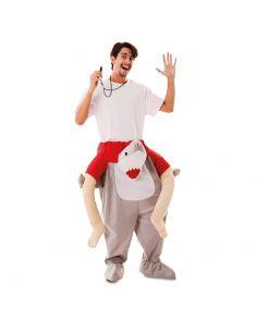 Disfraz a Hombros Tiburón adulto Tienda de disfraces online - venta disfraces