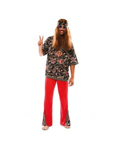 Disfraz de Hippie para hombre adulto Tienda de disfraces online - venta disfraces