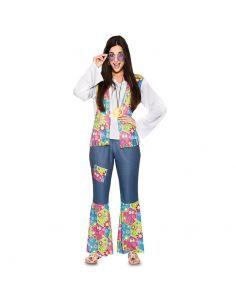 Disfraz Hippie para mujer adulta Tienda de disfraces online - venta disfraces