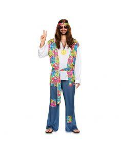 Disfraz Hippie para hombre adulto Tienda de disfraces online - venta disfraces