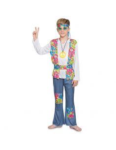Disfraz Hippie para niño Tienda de disfraces online - venta disfraces