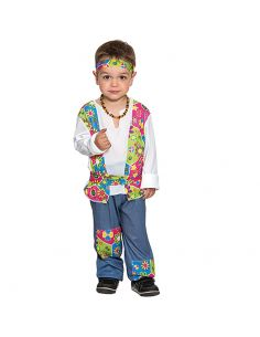 Disfraz Hippie bebe niño Tienda de disfraces online - venta disfraces