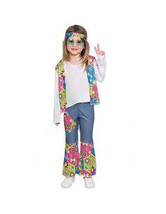Disfraz Hippie bebe niña Tienda de disfraces online - venta disfraces
