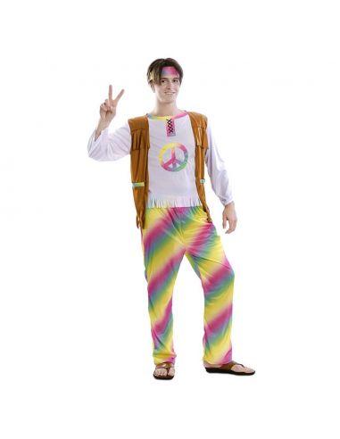 Disfraz Hippie Arcoíris para hombre Tienda de disfraces online - venta disfraces