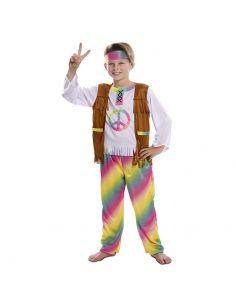 Disfraz Hippie Arcoíris para niño Tienda de disfraces online - venta disfraces