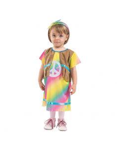 Disfraz Hippie Arcoíris bebe niño Tienda de disfraces online - venta disfraces