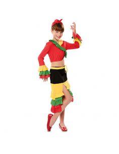 Disfraz Rumbera niña Tienda de disfraces online - venta disfraces