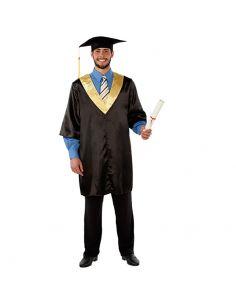 Disfraz Toga Graduado adulto