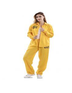 Disfraz Presa Amarillo adulto Tienda de disfraces online - venta disfraces