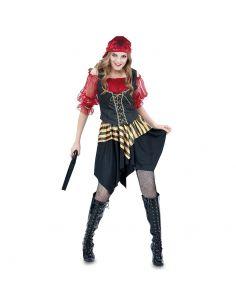 Disfraz Pirata Rojo mujer Tienda de disfraces online - venta disfraces