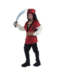 Disfraz Pirata Rojo niño Tienda de disfraces online - venta disfraces