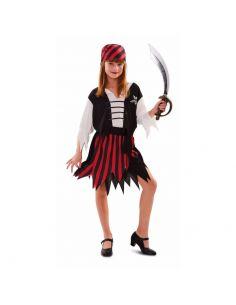 Disfraz de Gran Pirata niña Tienda de disfraces online - venta disfraces