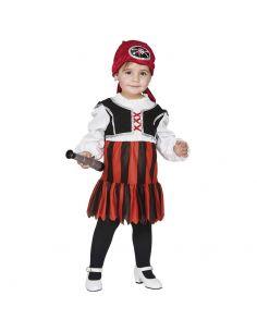 Disfraz de Pirata bebe niña Tienda de disfraces online - venta disfraces