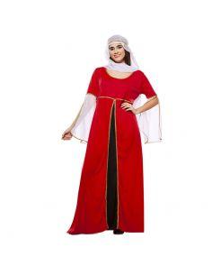 Disfraz Dama Medieval Roja adulta Tienda de disfraces online - venta disfraces