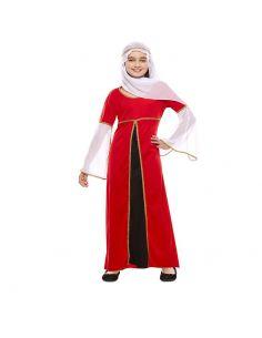 Disfraz Dama Medieval Roja infantil Tienda de disfraces online - venta disfraces