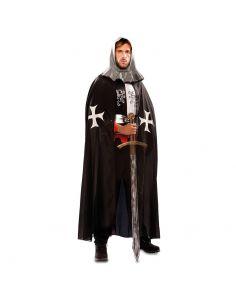 Capa Medieval Negro adulto Tienda de disfraces online - venta disfraces