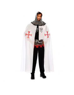 Capa Medieval Blanca adulto Tienda de disfraces online - venta disfraces
