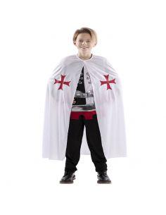 Capa Medieval Blanca infantil Tienda de disfraces online - venta disfraces