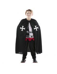 Capa Medieval Negro infantil Tienda de disfraces online - venta disfraces