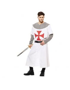 Disfraz Cruzado Medieval Blanco adulto Tienda de disfraces online - venta disfraces